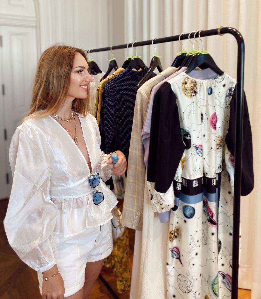 Anna Swiss Mermaid at Fashion Week Baum und Pferdgarten showroom